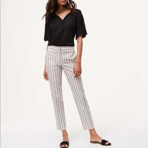 🎉NEW! Loft Linen Ankle Pants
